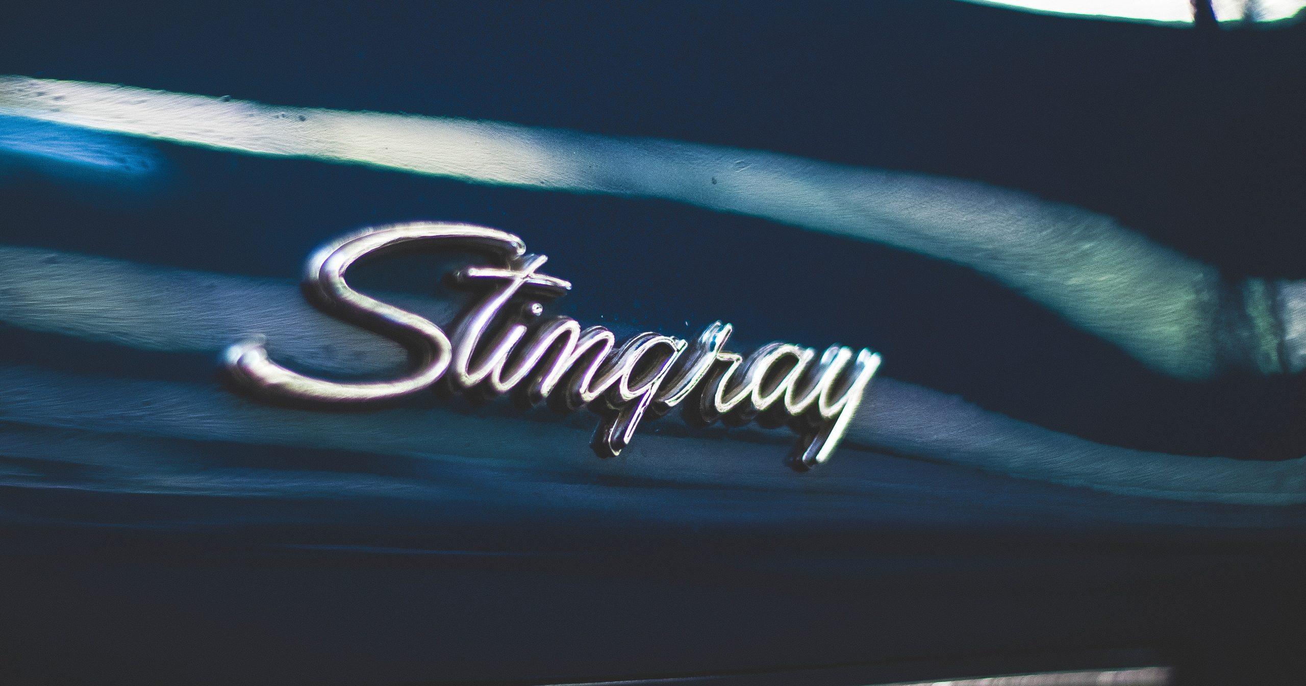 Stingray Corvette Emblem